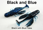 Black and Blue Craw 2.75