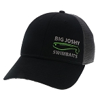 Big Joshy Swimbaits - Black / Dark Grey Hat